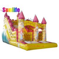 Quality inflatable castle clown fantasic slide for sale