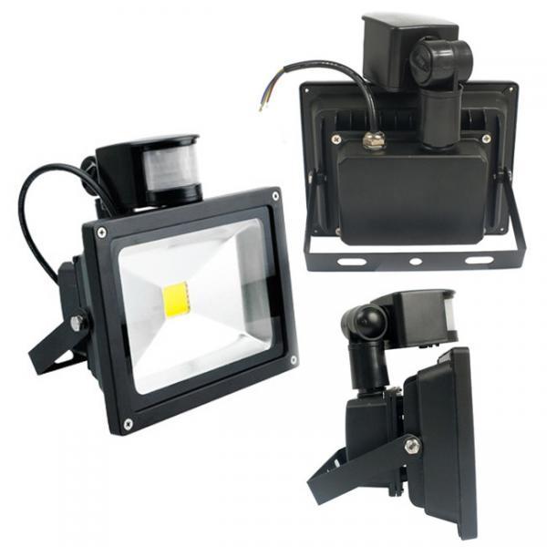 Warm White 20W LED Flood Light Lamp Outdoor Security PIR