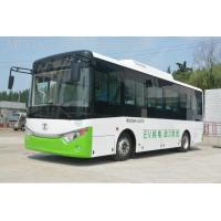 Quality Man CNG Minibus Compressed Natural Gas Vehicles , Rear Engine CNG Passenger Van for sale