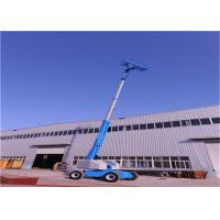 Quality Four Wide Tyres Telescopic Boom Lift Novel Axle Balancing System Real Time Drive for sale