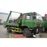 Buy cheap China Supplier offer 8ton 4x2 drive 190hp Swing Arm Waste Collector Truck sell from wholesalers