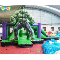 China Giant Sports  Kids Inflatable Bounce House Castle Hulk  Design Family Use on sale