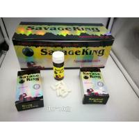 Quality Savage king powerfulk natural male enhancement pills prolong erection rock harder for sale