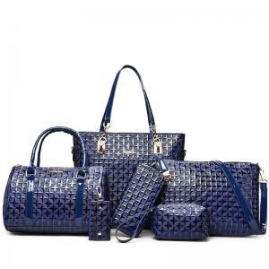 China Women Lady Leather handbag set Clutch Wallet Long PU Card Holder Purse Handbag NEW on sale