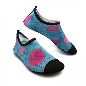 Soft Ladies Swim Shoes Durable Ladies Aqua Beach Shoes BSCI Certification