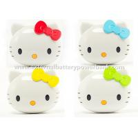 Quality Hello Kitty Iphone / Ipod Mobile Charging Power Bank USB 18650 5200mah for sale
