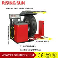 China 220V workshop used truck and car tire balancer machines for sale on sale