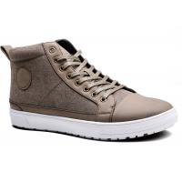 China Super Lace Up Mens Casual Boots Shoes , Ankle Canvas Sneaker Shoes on sale