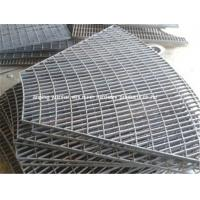 China Hot Dipped Mild Steel Grating Panels Easy Installation Attractive Appearance on sale