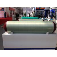 Fiberglass Storage Steel Gas Cylinder , ECE R110 / ISO11439 Type 2 CNG Tank