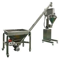 Quality High Accuracy Semi Automatic Auger Powder Filling Machine 60Hz With Feeder for sale