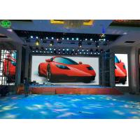 China Indoor advertising 4.81mm stage hotsale  500x1000mm Rocky led panel screen display for sale