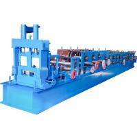 Quality Metal C Stud Roll Forming Machine Customized Color 33m/min Forming Speed for sale