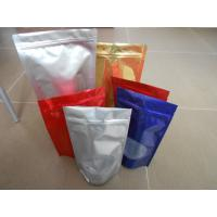 Quality Custom PET / PA/AL / PE / LDPE Stand up Ziplock Mylar Food Plastic Pouches Packaging for sale
