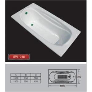Quality Cast iron bathtub SW-018 for sale