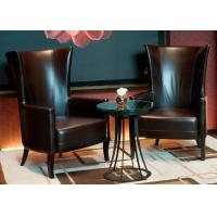 Leisure Leather Chair Modern Lobby Furniture For 5 Star