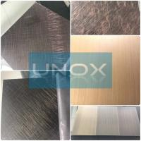 Quality ASTM A240 304 Hairline Bronze Stainless Steel Plate-Copper Plating Stainless Steel Decor Sheets for sale