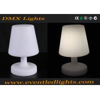 white battery operated led table lamp lithium battery for. Black Bedroom Furniture Sets. Home Design Ideas