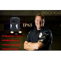China Law Enforcement 140 Degree 1296p 4g Body Camera IP65 Waterproof With Night Vision on sale