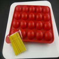 Quality 100% food-grade silicone material colorful silicone chocolate candy molds CE / EU, FDA, LFGB,  for sale