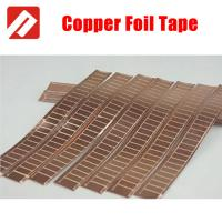 Quality Conductive Copper Self Adhesive Tape , Insulated copper tape 5mm for sale