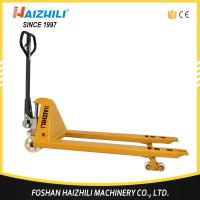Quality China wholesale pallet jack 3 ton hydraulic hand pallet truck with 1 year warranty for sale