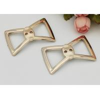 Quality Beautiful Bow Knot Summer Buckles For Shoes Non Slip Plastic Bow D670 for sale