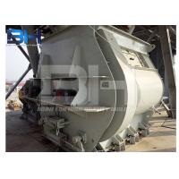 Quality Miniature Twin Shaft Dry Mortar Mixer With Paddle Structure CE ISO SGS Approved for sale