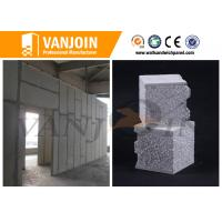 Quality 150mm thickness Sandwich Wall Panels fireproof test can reach 6 hours for sale