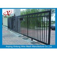 Quality Professional Automatic Sliding Gates Galvanized Pipe Material 1m Height for sale