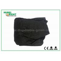 Quality Customized Soft Black Nonwoven Disposable Thongs For Male , ISO9001 Standard for sale