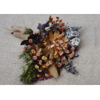 Quality Mini Palm Colorful Dried Flower Arrangements For Frame Decoration Coffee Table for sale