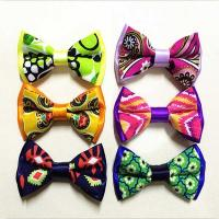 Quality Pre Tied Adjustable Ribbon Bow Crafts Handmade Mixed Assorted Color for sale