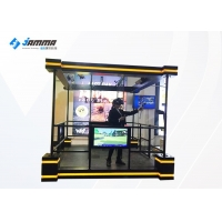 Buy cheap 2 Players VR Tower Simulator Shooting Game Machine from wholesalers