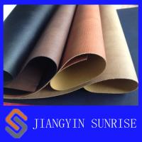Quality Anti - Ageing PU Synthetic Leather Upholstery Fabric Approved ROHS for sale