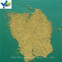 Quality Superfine dispersing and grinding golden cerium zirconia media for basket mill for sale