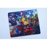 Quality Full Color Printing Rubber Mouse Mat With Customized Catoon Logo for sale