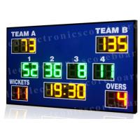 Buy cheap High Brightness Cricket Score Board , Led Electronic Scoreboard Outdoor Type from wholesalers