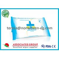 Quality Unscented Antibacterial Wet Wipes Alcohol Free Clean Hands Face With Essential Oils for sale