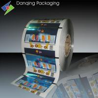 Quality Colorful Printed Plastic Packaging Roll Film For Liquid Pouch for sale