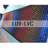 China LUV-LVC306 P9 P20 3mx6m full color indoor led curtain/indoor led video curtain on sale