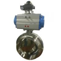Quality R&P aluminum alloy double action and spring return pneumatic rotary actuator for sale