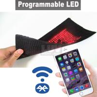 Quality Surface Mount Led programmable Display Board Portable Advertising Screen for sale