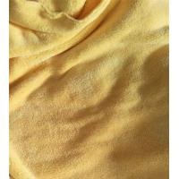 Quality Microfiber 150cm width 550gsm Yellow Coral Fleece High Quality 150D/144F Cleaning Cloth for sale