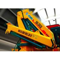 Quality Fast and Effective  Hydraulic Truck Mounted Crane For Transporting Materials , 11meters Lifting Height for sale