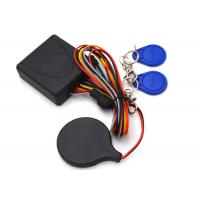 Quality Transponder RFID Motorcycle Security Alarm System , Visible Anti Theft Scooter Alarm System for sale