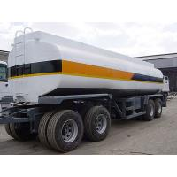 Quality 25000L-4 Axles-Draw Bar Monoblock Tanker for sale