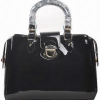 Quality Genuine Patent Leather Handbag in Fashionable Design, Various Colors are Available for sale