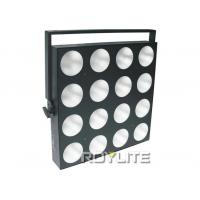 Quality high power 45 degree beam angle stage blinder lights , 16pcs 30w RGB 3 in 1 LEDs for sale
