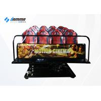 Quality Indoor Equipment 12 Seats 5D Cinema Theatre With 19 Inch Screen 220V for sale